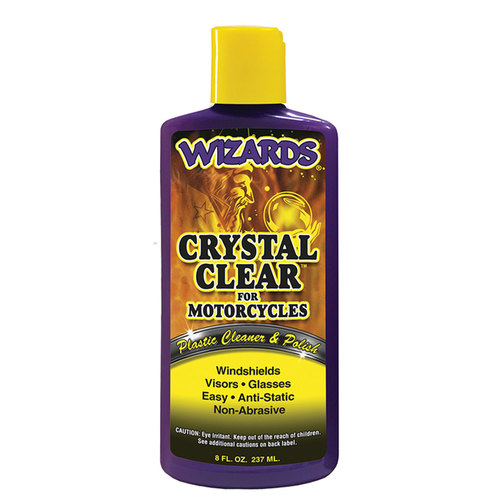 8oz Crystal Clear (Motorcycle)